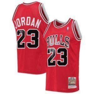 Men's NBA Chicago Bulls #23 Michael Jordan Jerse